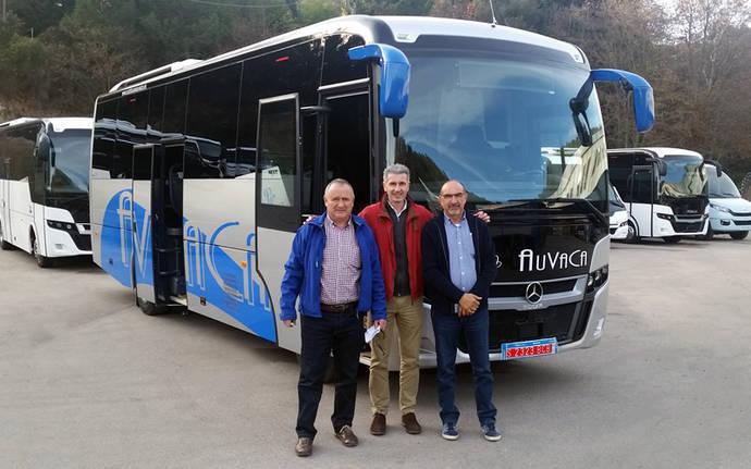Autocares Auvaca estrena un Next L9 de Indcar