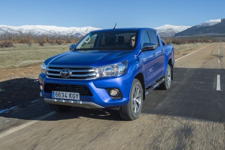 Llega a España el nuevo Hilux 2018 de Toyota