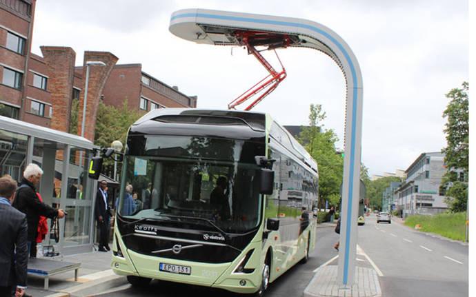 Heliox crea cargador rápido para los autobuses Volvo de Luxemburgo