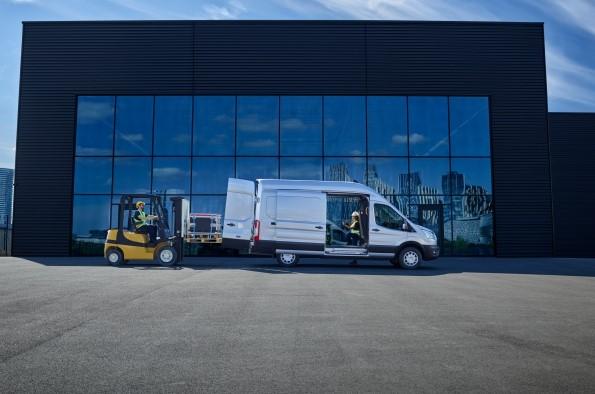 Transit 100% eléctrica: más productividad y valor para las empresas en Europa