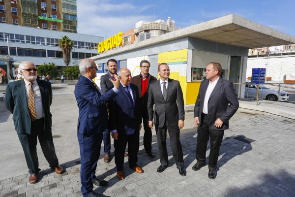 Nueva terminal de Guaguas en la plaza Manuel Becerra
