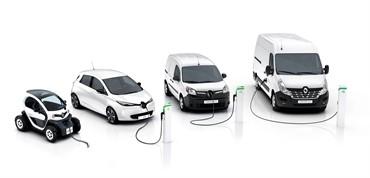 Renault presenta en el salón de Bruselas dos nuevos vehículos comerciales eléctricos