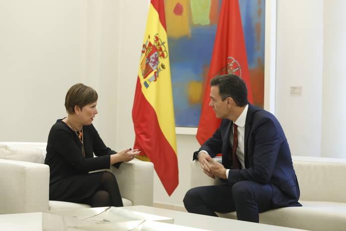 Barkos y Sánchez acuerdan la transferencia definitiva de Tráfico y Seguridad Vial