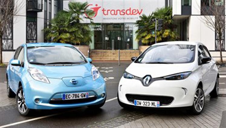 Renault-Nissan y Transdev crean una flota de vehículos autónomos para el transporte público del futuro