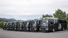 Vehículos de la flota de Globalia Autocares