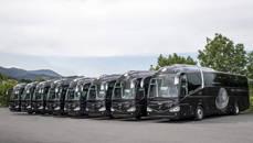 Globalia Autocares incorpora ocho nuevos autobuses a su flota