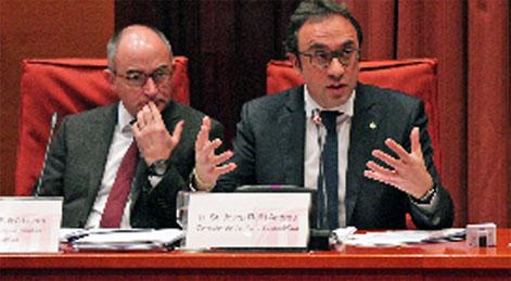 El consejero Josep Rull pide apostar por el transporte público en Cataluña