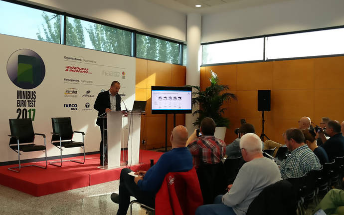 Indcar en la primera edición del Minibus Euro Test