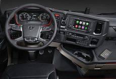 Scania está introduciendo Apple CarPlay en la nueva generación de camiones