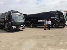Autocares Olmedo adquiere una unidad King Long C10 de 10 metros