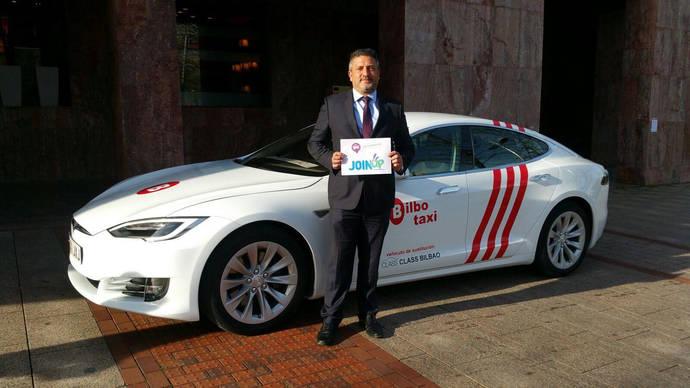 Bilbao subvenciona con 10.000 euros a los taxistas que cambien su vehículo por uno eléctrico