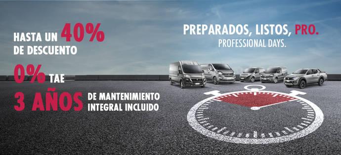 Vuelven los Professional Days de Fiat, con grandes condiciones