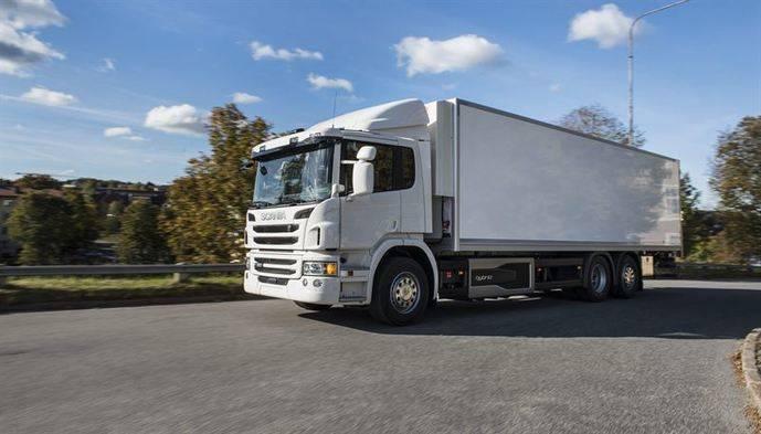 Un camión híbrido de Scania gana un premio a la innovación