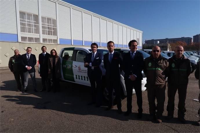 Nissan gana un concurso de 57 Nissan Navara para Castilla y León