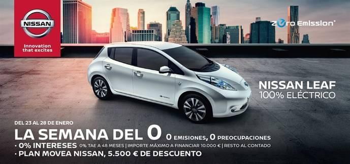Nissan eNV200, lidera el mercado de las furgonetas eléctricas en el primer trimestre