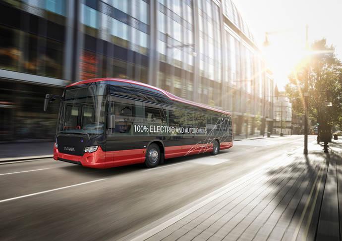 Scania y Nobina son pioneras en los e-buses autónomos, en Suecia