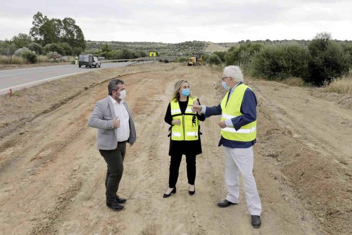 Andalucía inicia las obras de ampliación del Puente de los Frailes en Aznalcóllar