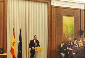 José Luis Ábalos presenta el Ministerio de Transportes, Movilidad y Agenda Urbana
