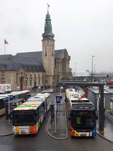 Los cargadores están basados en OppCharge, una interfaz abierta para la carga automática de los buses eléctricos de cualquier fabricante.