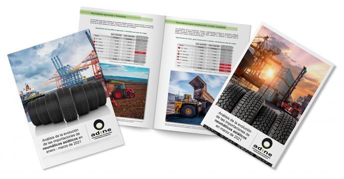 La importación de neumáticos asiáticos crece un 13,2% en camión en marzo