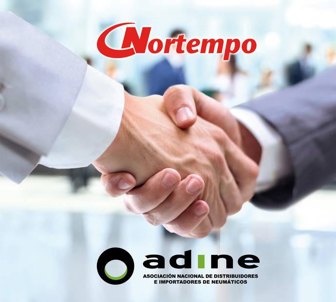 Adine firma un acuerdo de cooperación con Nortempo, empresa de trabajo temporal