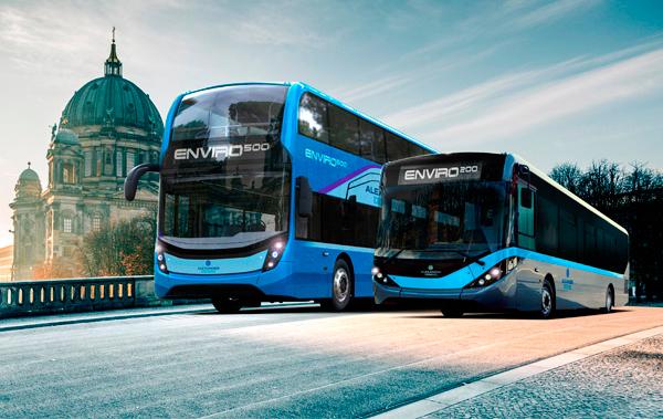 ADL presentará en Busworld el Enviro500 y el 200