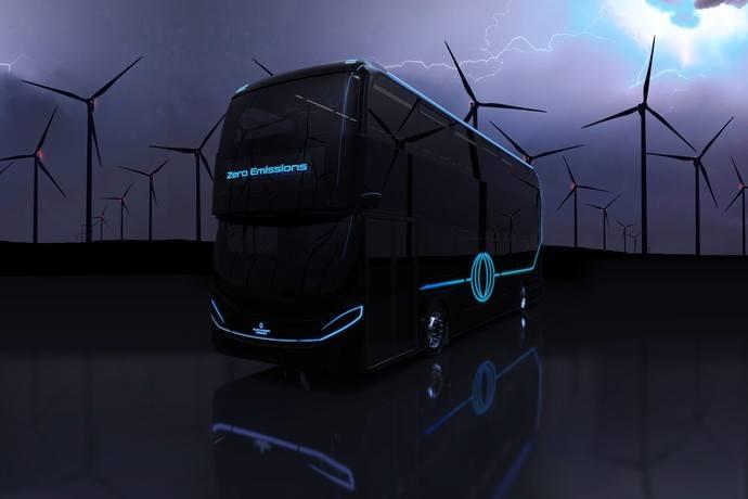 El autobús de hidrógeno ADL ofrece un alcance de hasta 300 millas sin emisiones