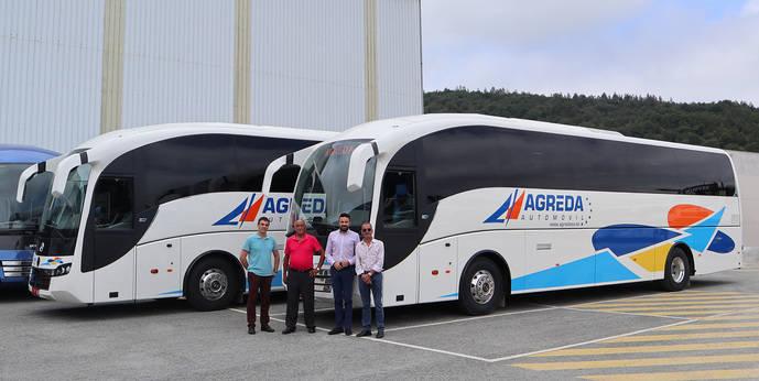 Agreda Automóvil amplia su flota con dos nuevos SC7 de Sunsundegui