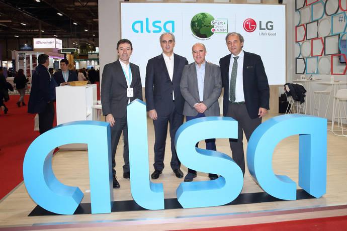Alsa toma la decisión de unirse al reto Smart Green de LG en España