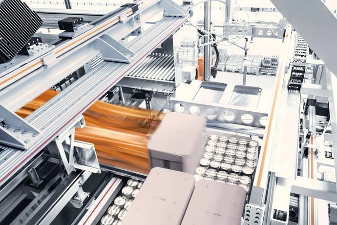 Dematic muestra en España Amcap, para paletización automatizada
