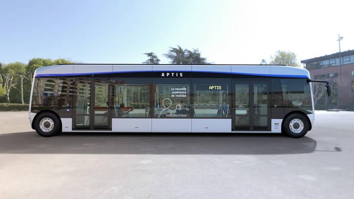 Alstom presenta un nuevo diseño para Aptis, su autobús 100% eléctrico