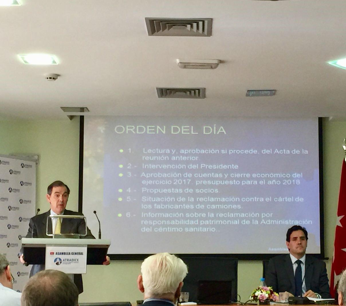 Atradice aborda los principales problemas del Sector en su Asamblea General