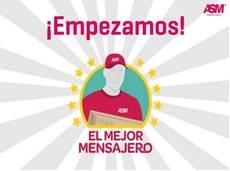 Imagen promocional de la campaña 'Mejor Mensajero' de ASM