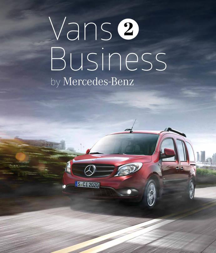 Mercedes-Benz crea un nuevo concurso, llamado 'Vans 2 Business'