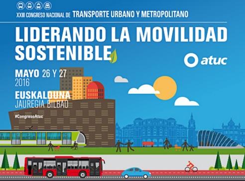 XXIII Congreso Nacional de Transporte Urbano y Metropolitano de Atuc en Bilbao