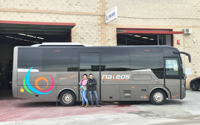 Primer Indcar Next para Autocares Mateos