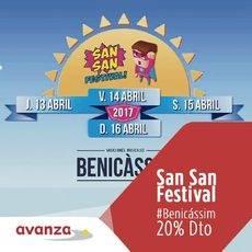 Avanza ofrece descuentos del 20% para ir al San San festival