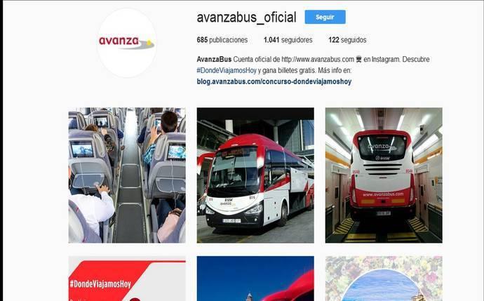 Avanza sortea viajes en Instagram con #DondeViajamosHoy