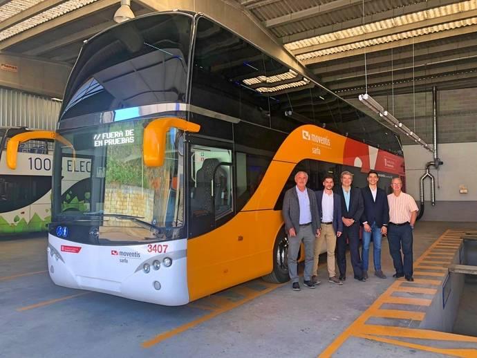 Ayats introduce en España su Intercity, de la mano de Moventis-Sarfa