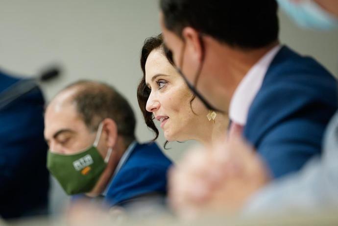 Isabel Díaz Ayuso: 'Lo mejor para apoyar a los autónomos es dejaros trabajar'