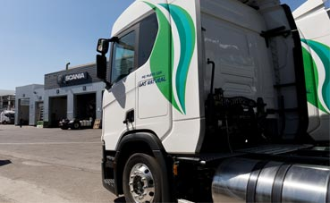 Acotral adquiere ocho vehículos de Scania propulsados por GNL