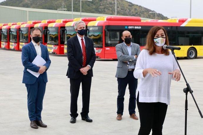Mallorca: primeros autobuses interurbanos 100% eléctricos