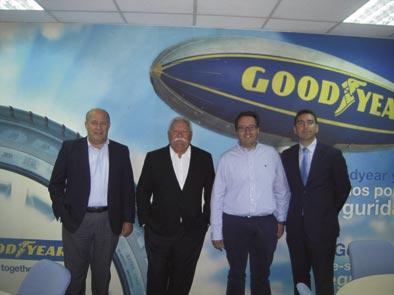 Acuerdo de colaboración entre Goodyear y Grupo Fortrans