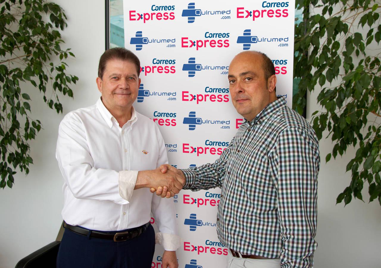 Quirumed confía a Correos Express las soluciones logísticas de su tienda online