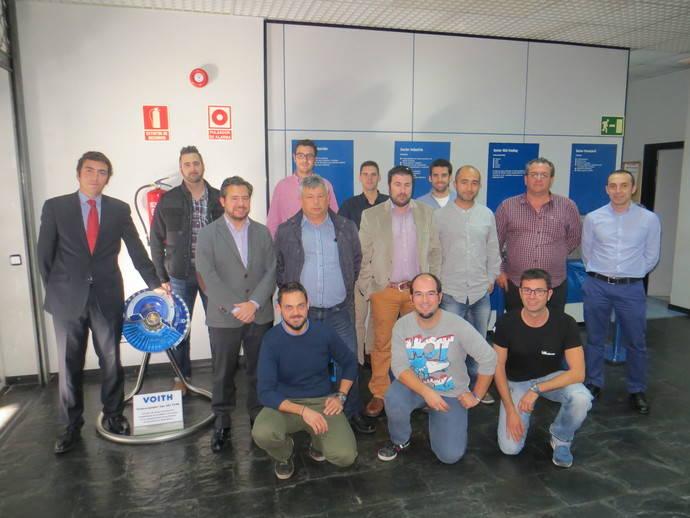 Voith y Grupo Fortrans avanzan en su proyecto de formación especializada
