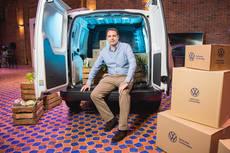 Teichman (Volkswagen): 'Caddy baja 15 gr de emisiones y no salta de tramo'