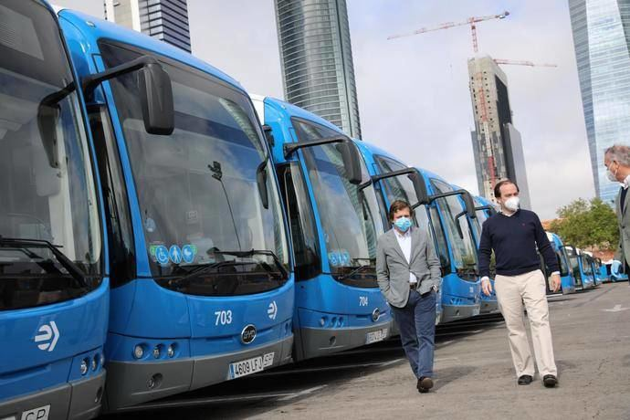 Un total de 44 nuevos conductores se incorporan al servicio de autobús de la EMT