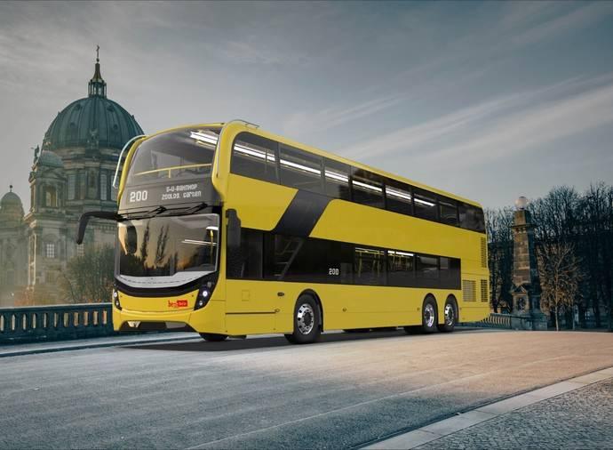 Alexander Dennis gana contrato de Berlín para flota de buses de dos pisos