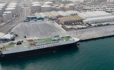 Se amplía cuatro hectáreas la terminal Ro-Ro del Puerto de Algeciras