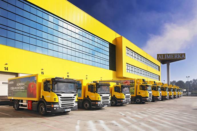Alimerka adquiere 20 camiones de GNL de Scania